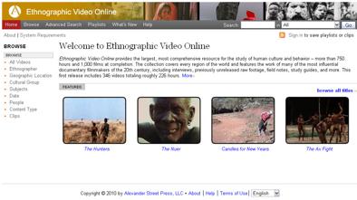 EVO Homepage